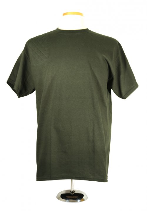 #2000 Cotton Tee Short Sleeve - Right hand, single layer pad, forest green