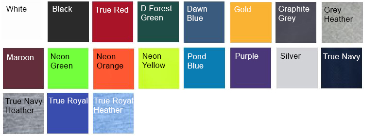 shirt colors
